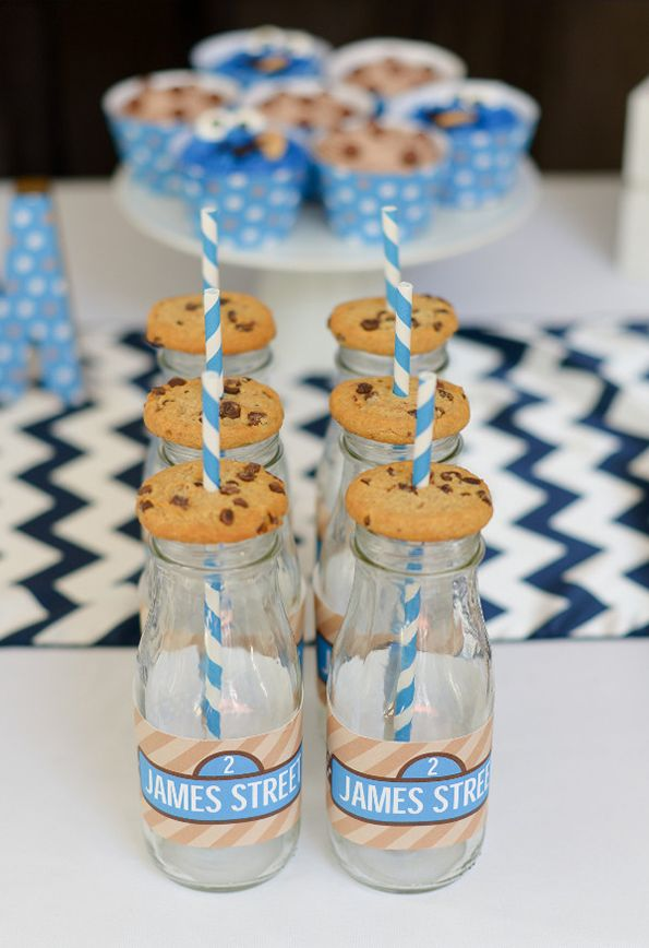 Cookie Monster Birthday Party By Sweetlychicdes