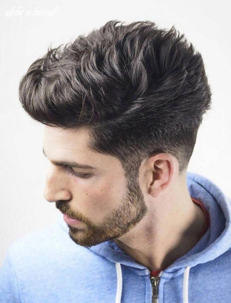 4 Alpha M Haircut in 4  Mens hairstyles undercut, Undercut