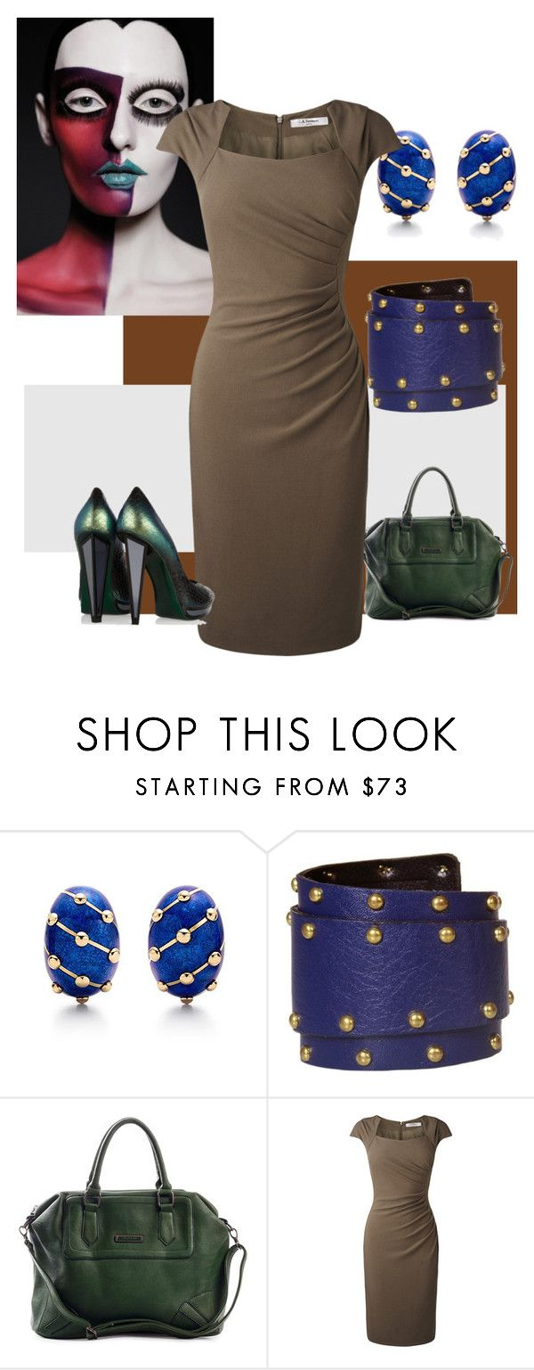 """15"" by sunnybluuz ❤ liked on Polyvore featuring Tiffany & Co., L.K.Bennett and Yves Saint Laurent"