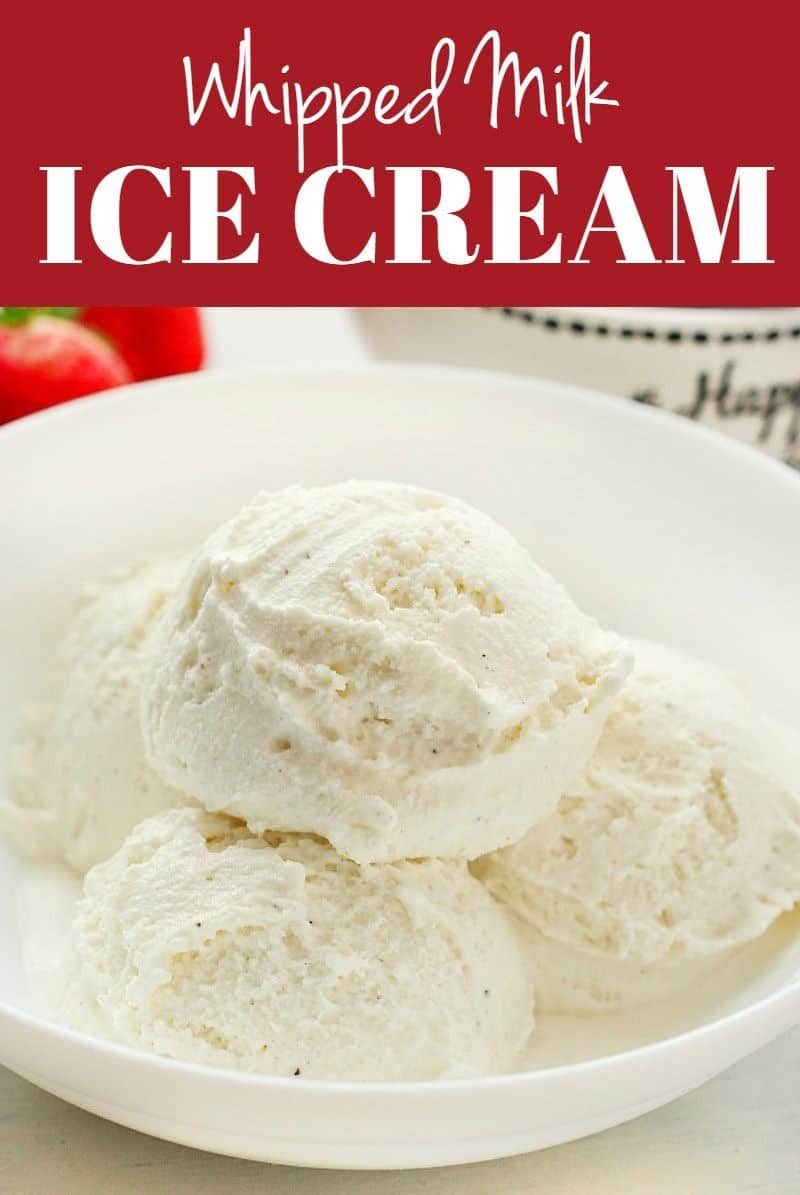 Whipped Milk Ice Cream No Machine Needed To Whip Up This Two Ingredients Treat In 2020 Easy Ice Cream Recipe Iced Milk Recipe Ice Cream Recipes Machine