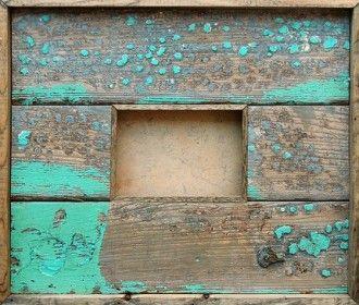 Scrap Wood Photo Frames