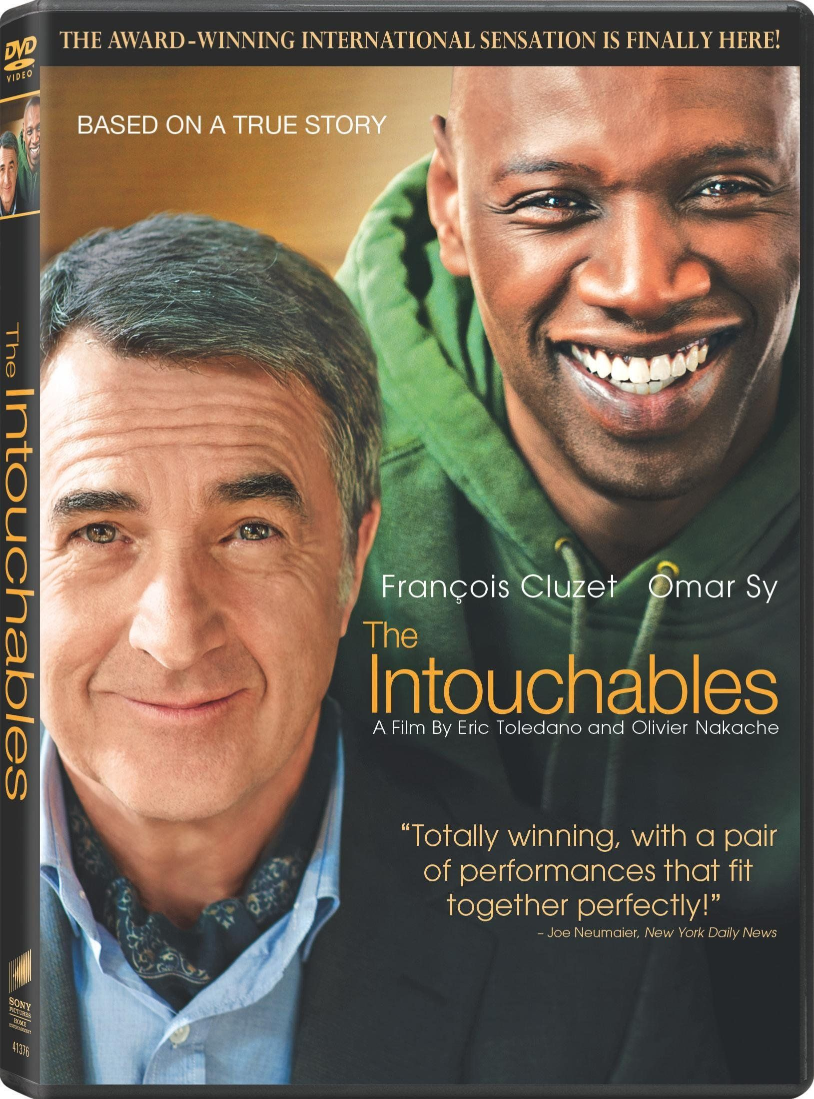 the intouchables dvd the intouchables the french film