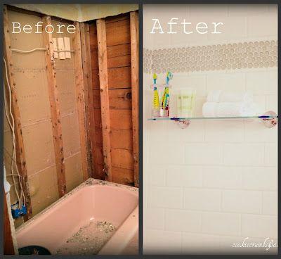 My Pink Bathroom Part3 Bathroom Shower Stalls Pink Bathroom Pink Tub