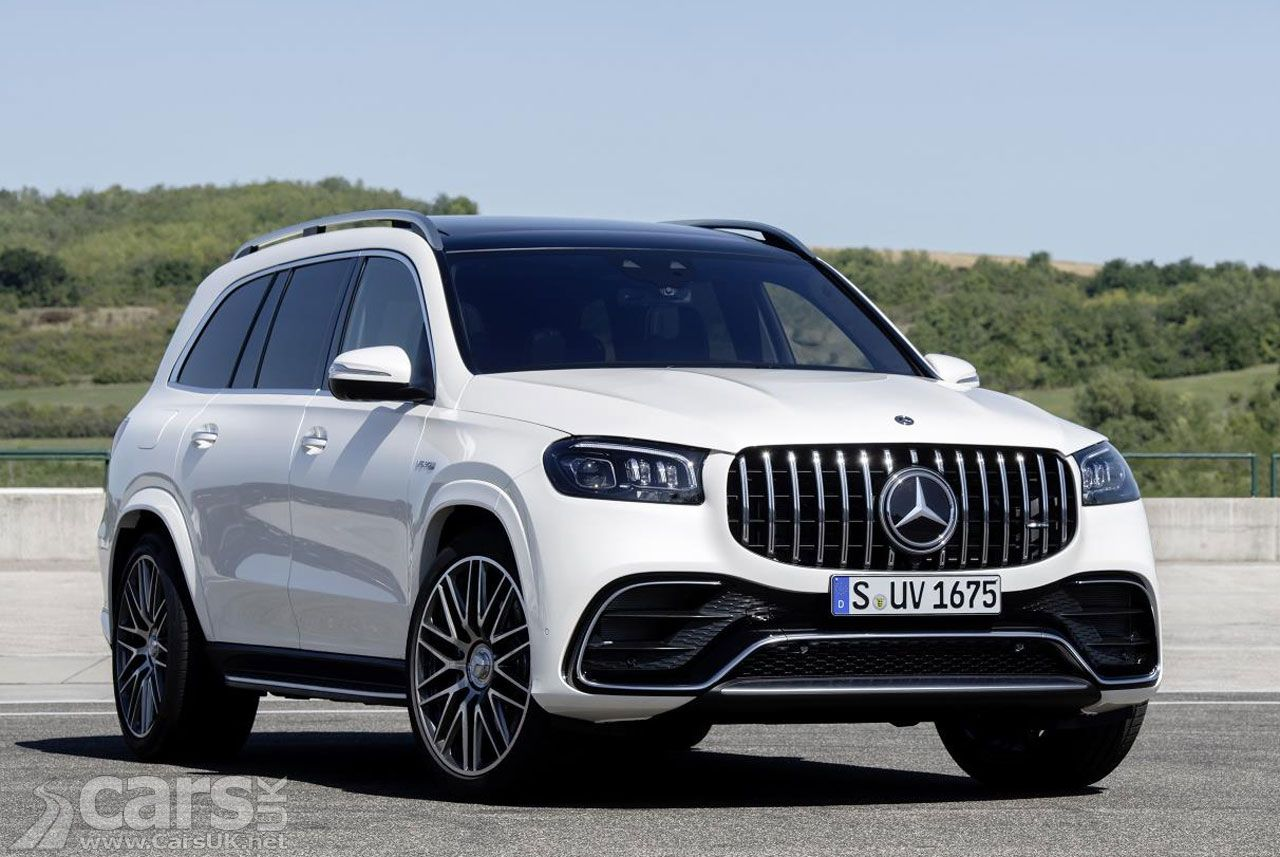 New Mercedes Amg Gls 63 Revealed With 100bhp Per Passenger Mercedes Benz Gle 7 Seater Suv Suv