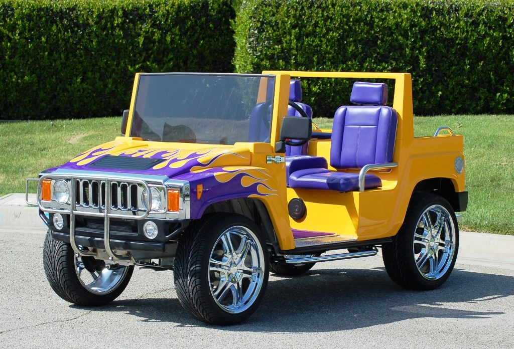 Custom Hummer H3 Neighborhood Electric Vehicle Nev Street Legal