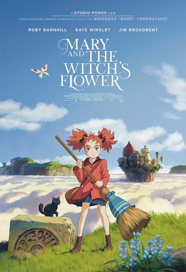 """""""Mary and the Witch's Flower"""" Enchants with English Dubbed"""