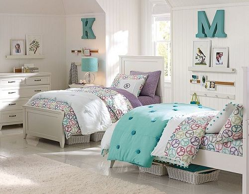 S Bedroom Ideas Decorating For Using Peace Sign Bedding Sets In White
