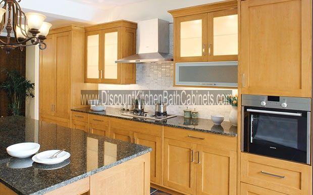 Blonde Shaker Maple S4 Kitchen Cabinets Kitchen Cabinet