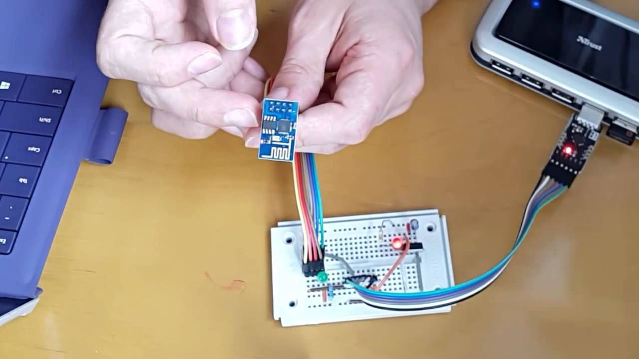 Esp 8266 Web/Phone Controlled Led | electronice | Led, Phone, Arduino