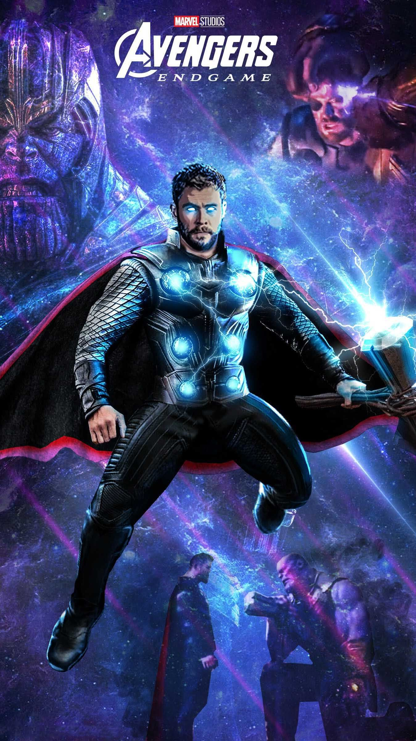 Download Free Thor Avengers EndGame HD Mobile Wallpaper