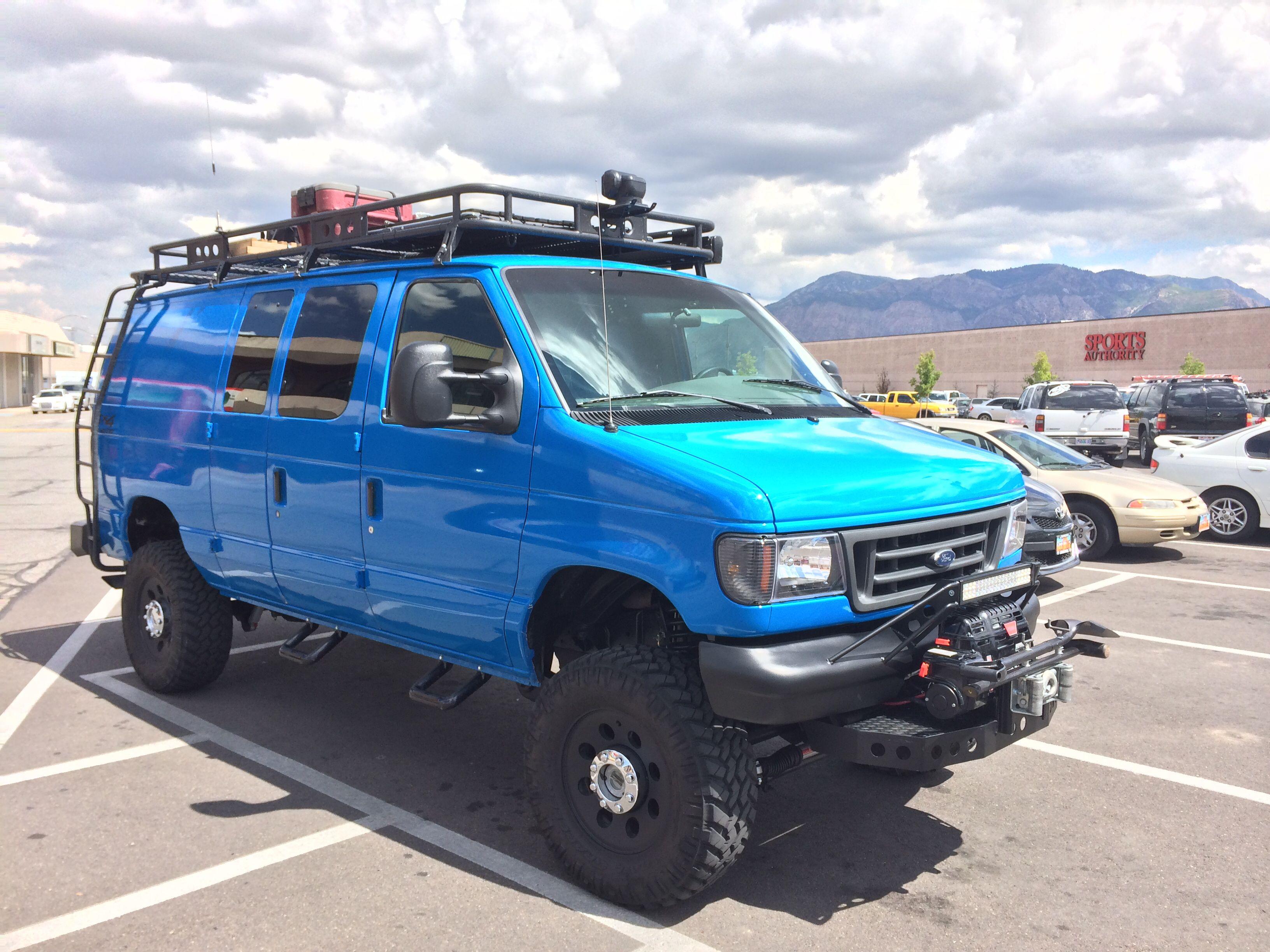 4x4 Diesel Full Size Off Road Van Ford Van 4x4 Van Chevy Van