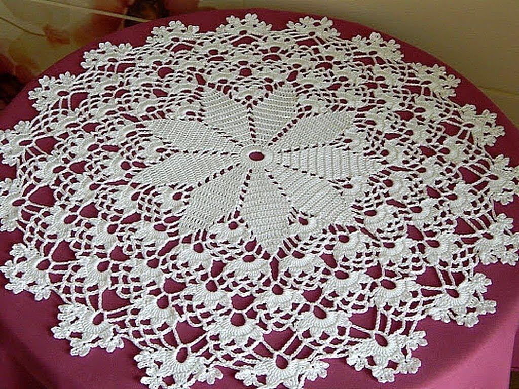 Crochet .Crochet Doily diagram. My doily. Lace napkins. FREE crochet ...