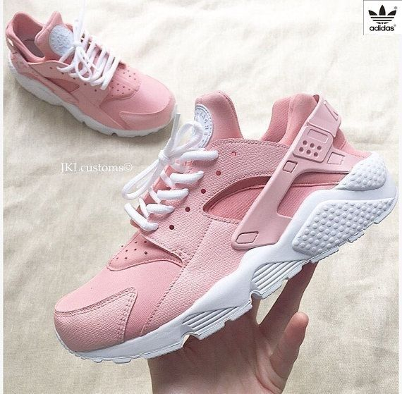 new product 78847 19612 ROSA Nike Air Huarache Rosa Nike Huarache Rose White by JKLcustoms