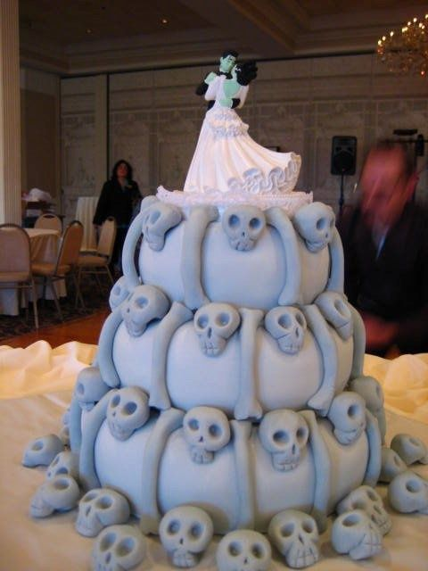 The Wedding Cake From Corpse Bride With Personalized