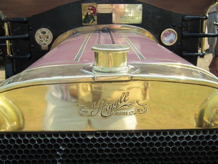 Argyll 1908 radiator badge Car radiator, Car bling, Badge
