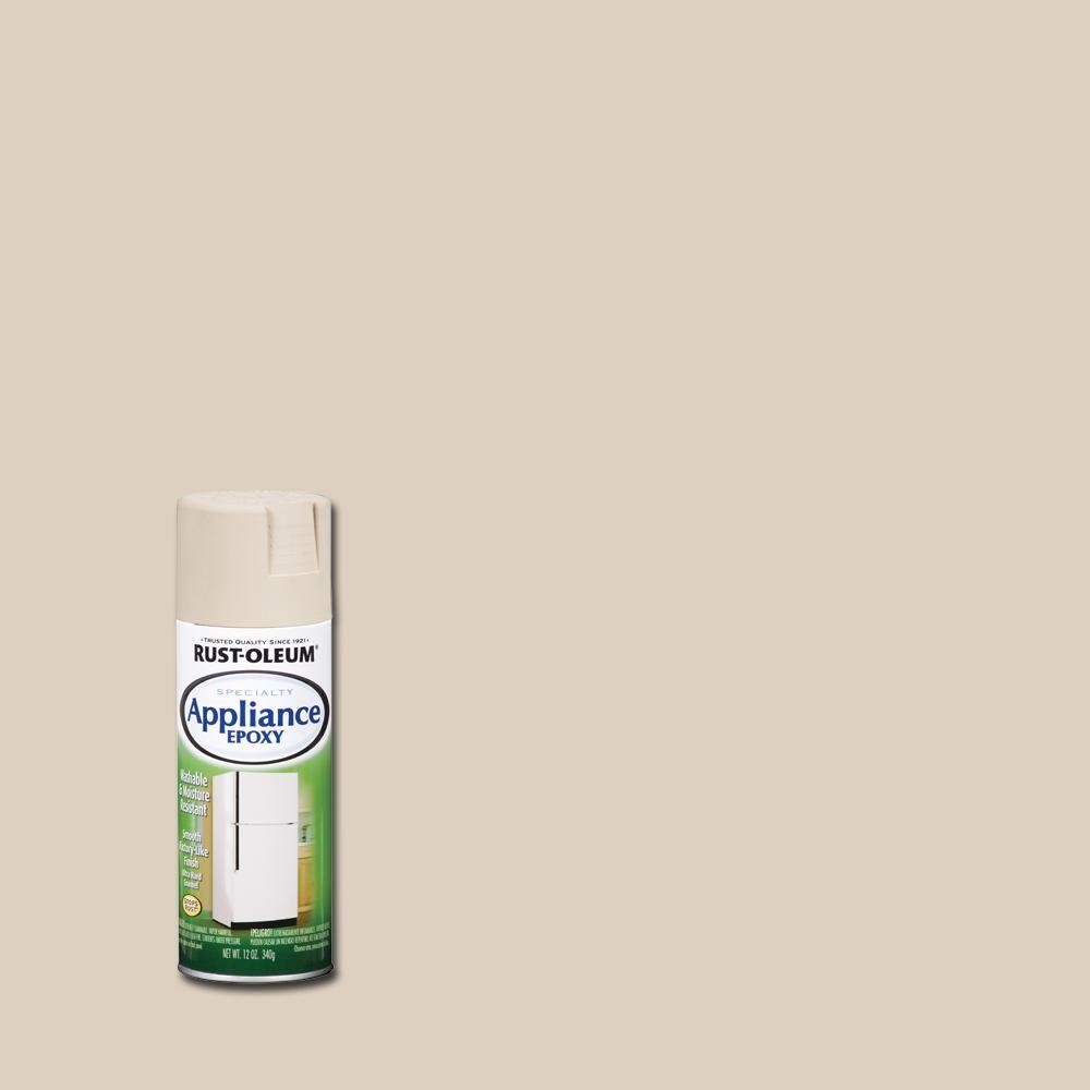 Rust Oleum Specialty 12 Oz Appliance Epoxy Gloss Almond Spray