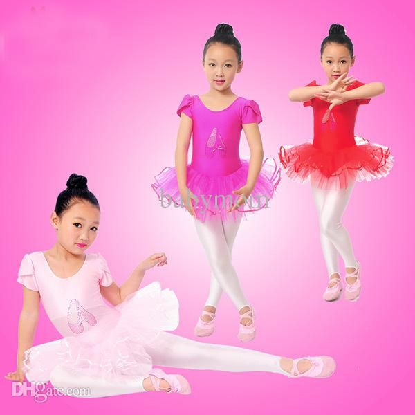 Wholesale-Flower Girls Ballet Dress For Children Girl Dance Clothing Kids Ballet Costumes For Girls Dance Leotard Girl Dancewear Online with $13.96/Piece on Babymom's Store | DHgate.com