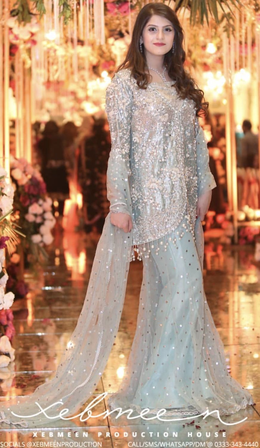 Brides Sister In Law At The Barat Pakistani Wedding Dresses Womens Wedding Dresses Wedding Dresses Lace