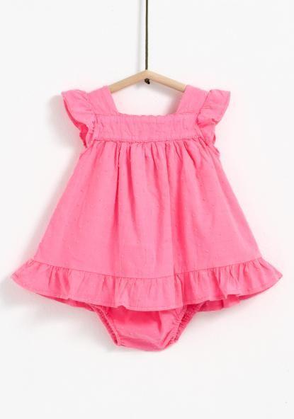 Vestido con braguita TEX Terno Para Bebe b81873198e62