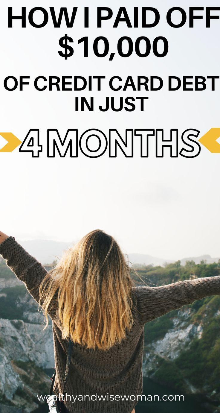 Wie ich in 4 Monaten 10.000 Dollar Schulden getilgt habe   – Budget