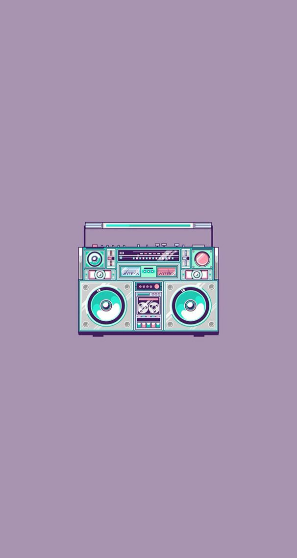 Supercool Retro Music 90s Wallpaper Imagenes