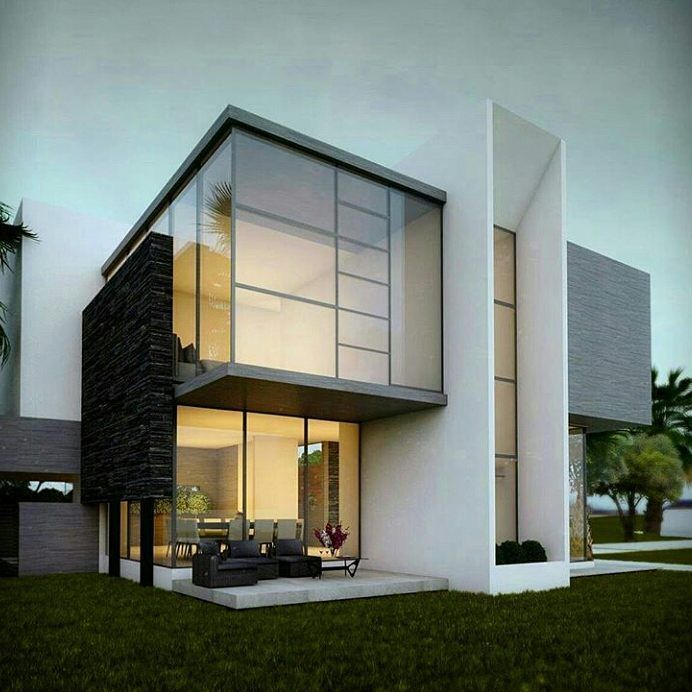 Pin By Mohamed O On Modern Villas: Modern House Design, Contemporary