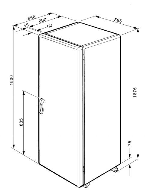 Apartment Size Refrigerator Dimensions - TheApartment