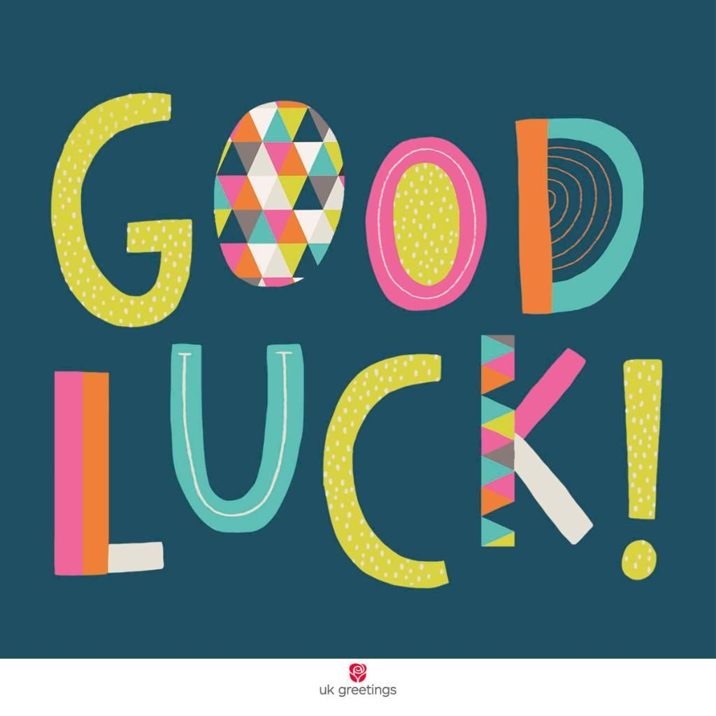 UK Greetings on | Good luck wishes, Happy words, Quotes ...