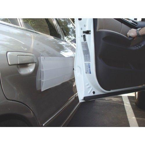 How to get scratches off car door