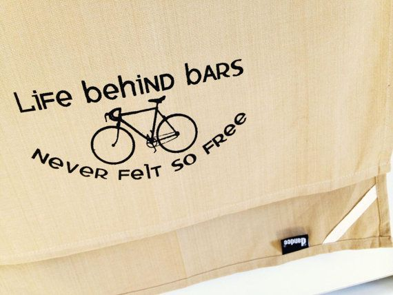 Life Behind Bars Never Felt So Free Bike Kitchen Dish By Sewdandee