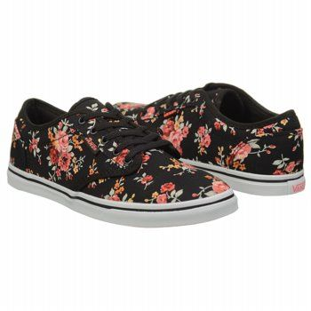 0ed6ac7508 Athletics Vans Women s Atwood Lo Black Neon Coral FamousFootwear.com