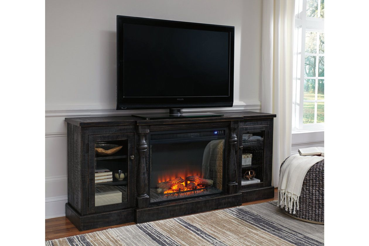 Mallacar 75 Tv Stand Ashley Furniture Homestore Fireplace Tv