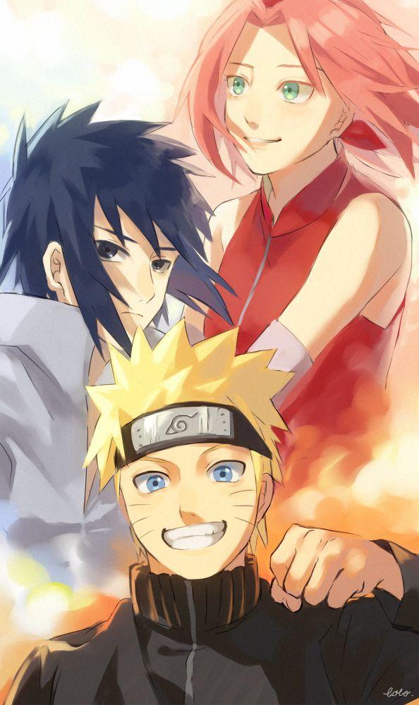 Team 7 Shippuden Fanart Dibujos Chibi Arte De Naruto Personajes De Naruto