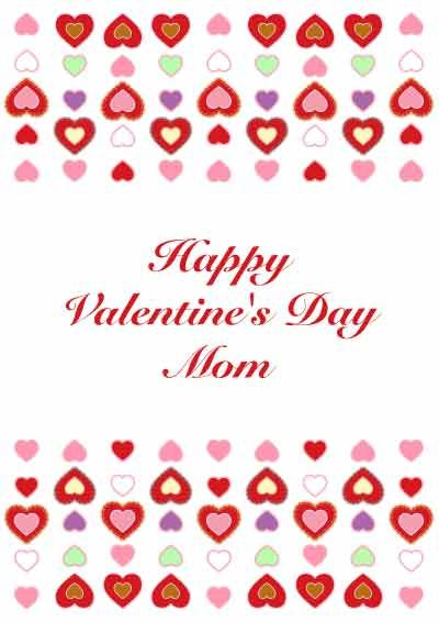 Free Printable Valentine S Day Card For Mom My Free Printable Cards Com Printable Valentines Cards Happy Valentines Day Mom Printable Valentines Day Cards