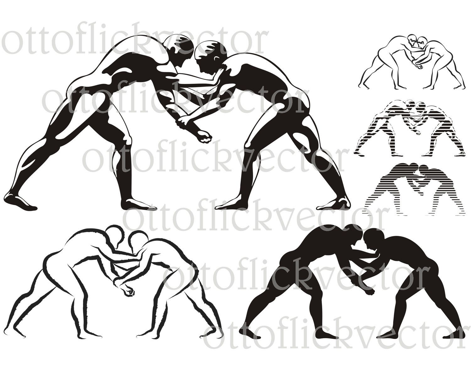 Wrestling Vector Silhouettes Clipart Eps Ai Cdr Png Jpg Sport Icon Ancient Combat Sport Wrestlers Icon Gre Wrestling Tattoos Greek Wrestling Wrestling