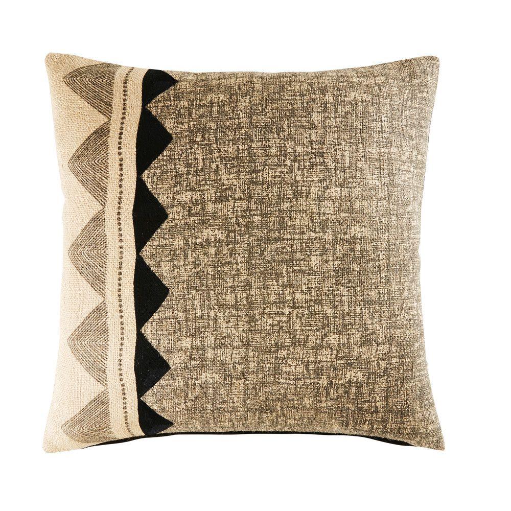 Deko Textilien Cushions Jute Pillows