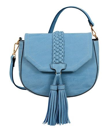 Another great find on #zulily! Blue Taylor Washed Crossbody Bag #zulilyfinds