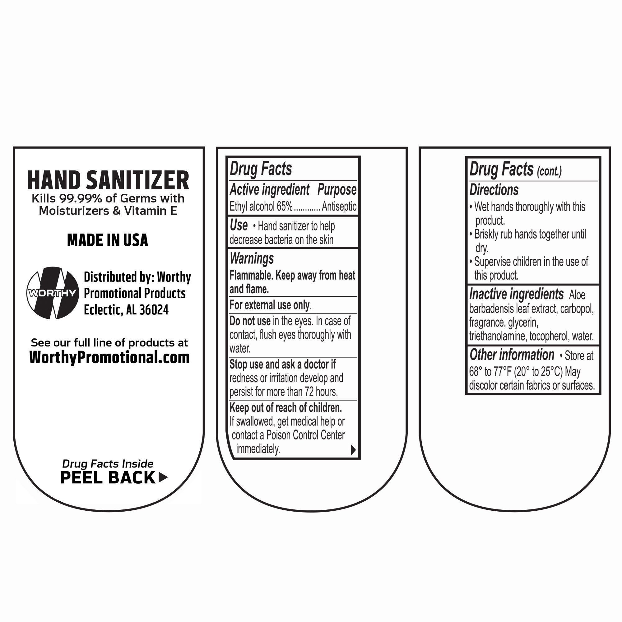 Customized Label Premium Hand Sanitizer With Clipa Bulk 100piece