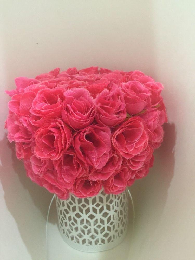 ELIXITA Centerpiece Wedding Table Decoration Center Flowers Silk Valentine Roses #ELIXITA
