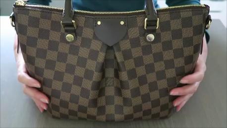 f2ec0b62520c Louis Vuitton Siena PM Damier Ebene Handbag