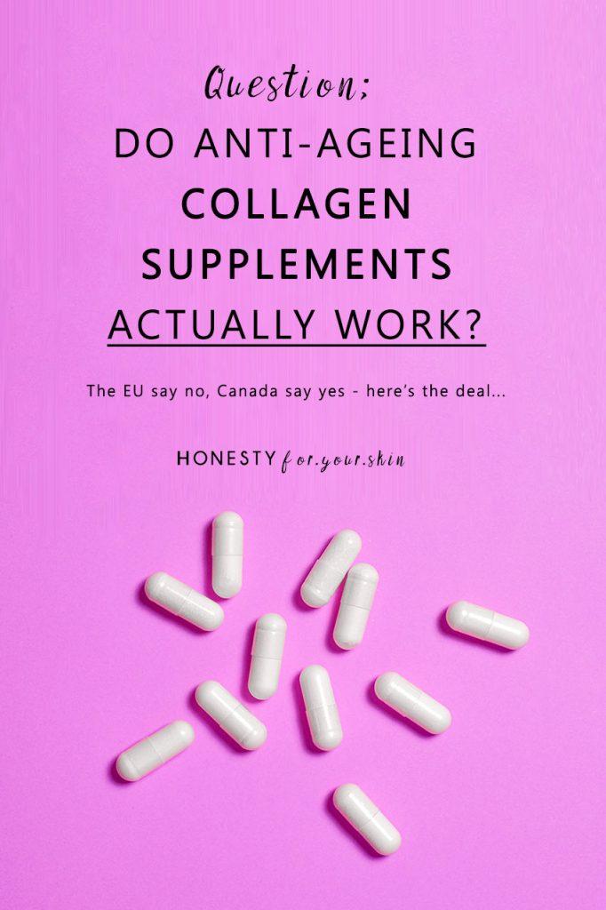 Collagen Effects On Skin Do Collagen Supplements Really Work In 2020 Collagen Supplements Collagen Pills Collagen