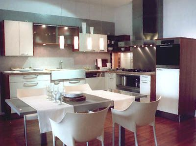 L shaped eat in kitchen & L shaped eat in kitchen | Spaces | Pinterest | Dining Kitchens and ...