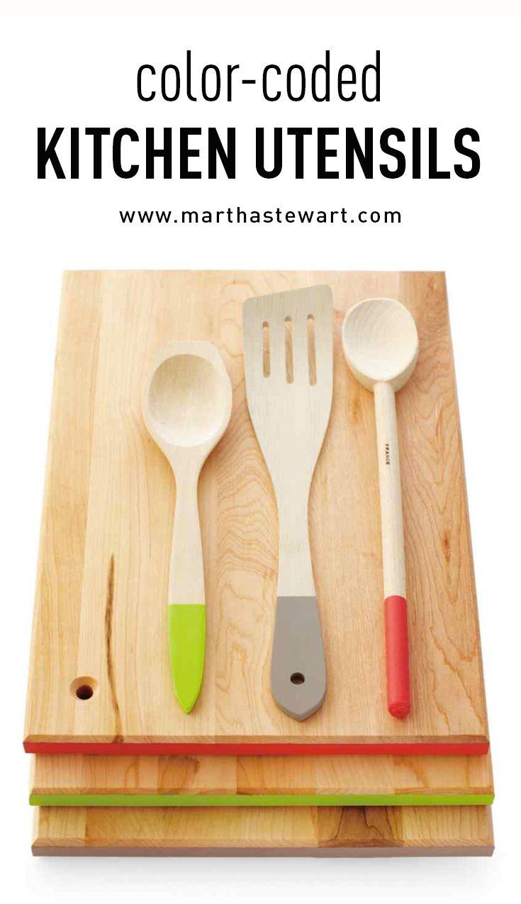 Color Coded Kitchen Utensils Kitchen Utensils Cooking