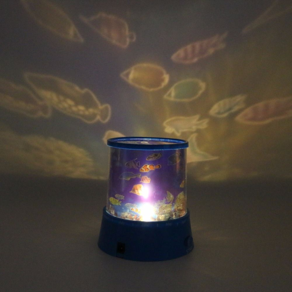 Romantic Night Light Projector Lamp Children Baby Sleep Light Star Universe Ocean Usb Led Projection Night Light Af Night Light Night Light Projector Star Sky