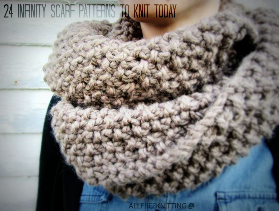 Knitting Scarf Patterns Infinity Scarf : 40 infinity scarf patterns youll love scarves and