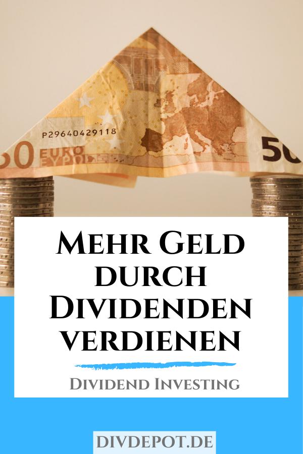 geld verdienen mit dividenden