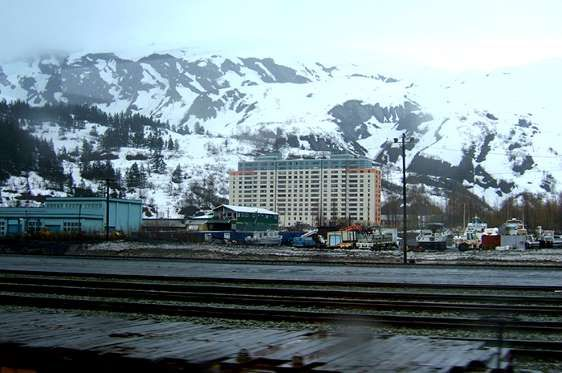 Whittier Alaska Would You Live In A Building Where Almost All Of The Other Residents Of The City Live As Well About 20 Whittier Alaska Most Haunted Whittier