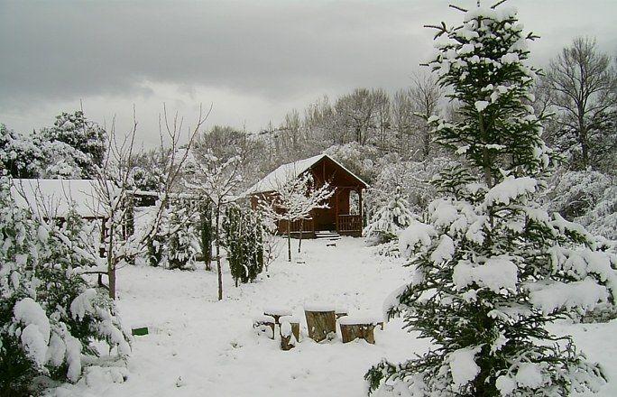 Resultado de imagen de sierra nevada cabañas