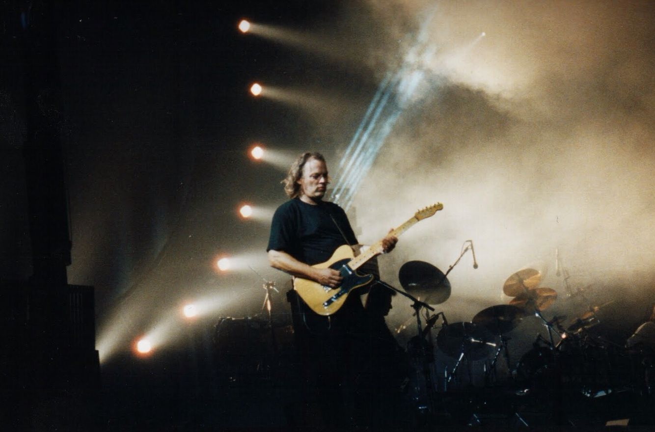 Delicate Sound Of Thunder, Pink Floyd, 1989.