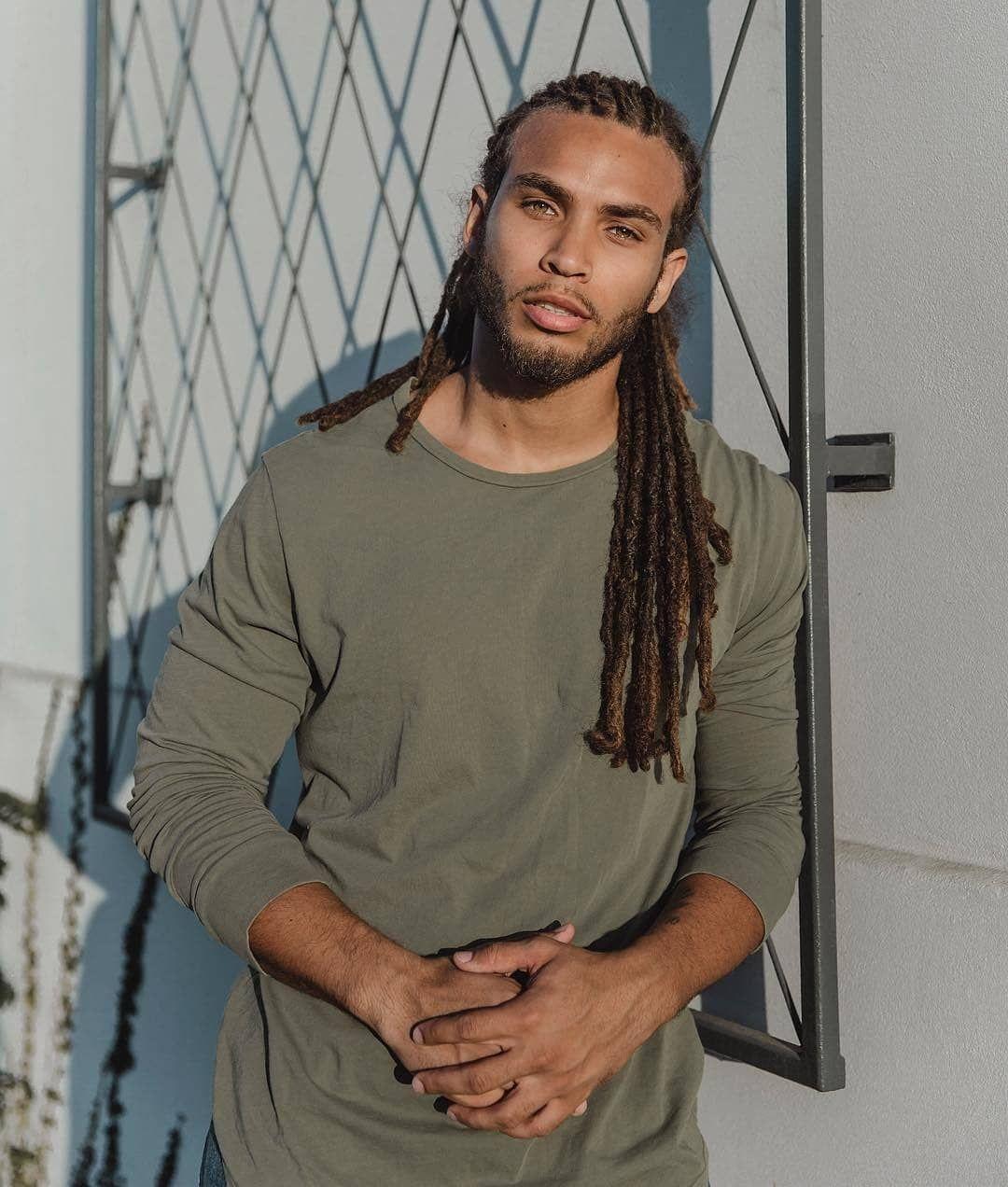 Men With Locs On Instagram Mr Moxam Photography By Christina Schaefer Light Skin Men Dreadlock Hairstyles For Men Light Skin Boys